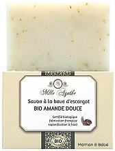 Parfums et Produits cosmétiques Savon à la bave d'escargot, Bio Amande Douce - Mlle Agathe