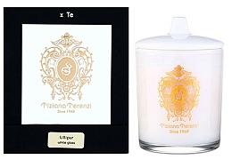 Parfums et Produits cosmétiques Tiziana Terenzi Lillipur Scented Candle White Glass - Bougie parfumée