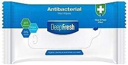 Parfums et Produits cosmétiques Lingettes nettoyantes antibactériennes, 15 pcs - Aksan Deep Fresh Antibacterial Wet Wipes