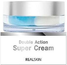 Parfums et Produits cosmétiques Crème à l'extrait e thé vert pour visage - Real Skin Double Action Super Cream