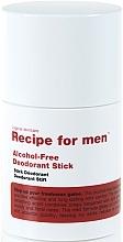 Parfums et Produits cosmétiques Déodorant stick sans alcool - Recipe For Men Alcohol Free Deodorant Stick