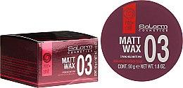 Parfums et Produits cosmétiques Cire coiffante matifiante tenue forte - Salerm Matt Wax