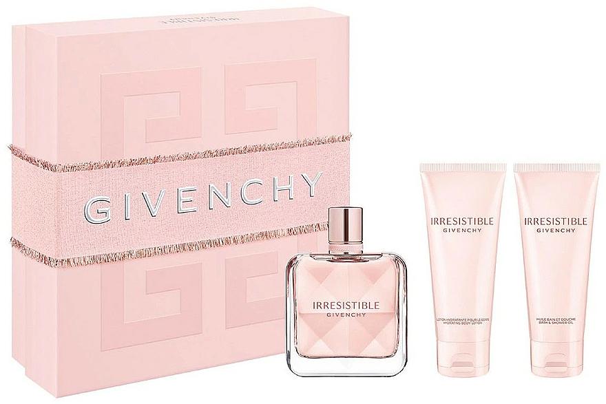 Givenchy Irresistible Givenchy - Coffret (eau de parfum/80ml + lotion corporelle/75ml + huile bain et douche/75ml)