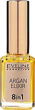 Parfums et Produits cosmétiques Soin régénérant à l'huile d'argan 8-en-1 pour ongles et cuticules - Eveline Cosmetics Argan Elixir