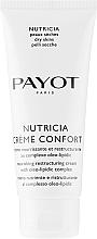 Parfums et Produits cosmétiques Crème au complexe oleo-lipidic pour visage - Payot Nutricia Creme Confort Nourishing & Restructuring Cream