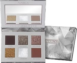 Parfums et Produits cosmétiques Palette de fards à paupières - Nabla Cutie Collection Palette Platinum