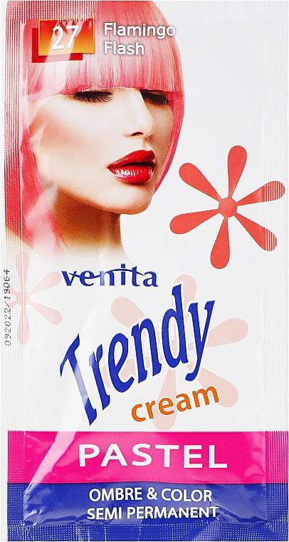 Crème colorante semi-permanente pour cheveux - Venita Trendy Color Cream (sachet)