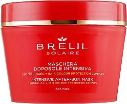 Parfums et Produits cosmétiques Masque après-soleil à l'huile de tsubaki pour cheveux - Brelil Solaire Intensive After-Sun Musk