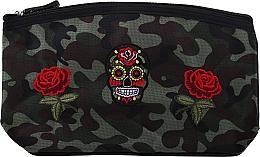 Parfums et Produits cosmétiques Trousse de toilette, Camouflage, 95900, roses et crâne - Top Choice