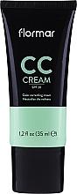 Parfums et Produits cosmétiques CC crème-correcteur de teint anti-rougeurs pour visage - Flormar CC Cream Anti-Redness