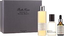 Parfums et Produits cosmétiques Bath House Spanish Fig and Nutmeg - Coffret cadeau (eau de cologne/100ml + gel douche/260ml + huile barbe/30ml)