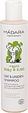 Parfums et Produits cosmétiques Shampoing doux à l'avoine et au tilleul pour bébé - Madara Cosmetics Ecobaby Mild Baby Shampoo