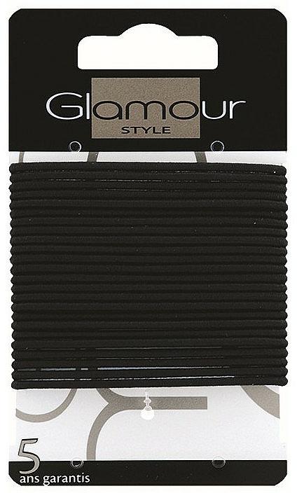Élastiques à cheveux, 414933, noir - Glamour