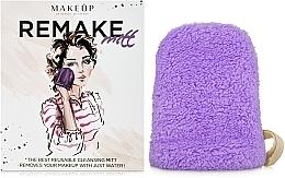 Parfums et Produits cosmétiques Gant démaquillant ReMake, lilas, 15x12cm - MakeUp