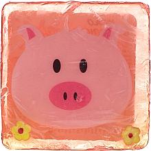 Parfums et Produits cosmétiques Savon glycériné à l'arôme de fraise juteuse, Cochon Malwinka - Chlapu Chlap Glycerine Soap