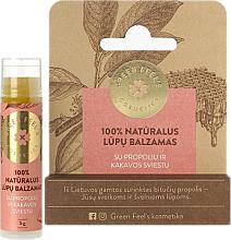 Parfums et Produits cosmétiques Baume à lèvres à la propolis et beurre de cacao - Green Feel's Natural Lip Balm