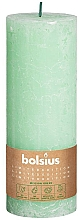 Parfums et Produits cosmétiques Bougie cylindrique, verte, 190 x 68 mm - Bolsius