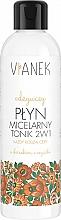 Parfums et Produits cosmétiques Eau micellaire à l'extrait de souci officinal - Vianek Micellar Face Water