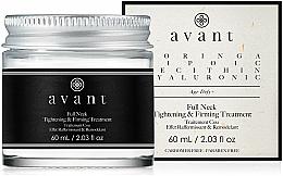 Parfums et Produits cosmétiques Traitement raffermissant et remodelant au beurre de karité pour cou - Avant Skincare Full Neck Tightening and Firming Treatment