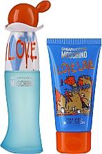 Parfums et Produits cosmétiques Moschino I Love Love - Coffret (eau de toilette/30ml + lotion corporelle/50ml)