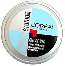 Parfums et Produits cosmétiques Crème coiffante fibreuse effet volant - L'Oreal Paris Studio Line Out of Bed Cream