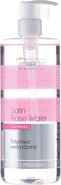 Eau Rose satinée au d-panthenol pour visage - Bielenda Professional Face Program Satin Rose Water