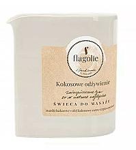 Parfums et Produits cosmétiques Bougie de massage à l'huile de coco - Flagolie Coconut Nutrition Massage Candle