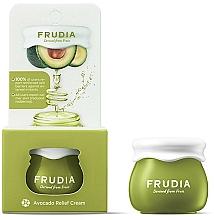 Parfums et Produits cosmétiques Crème à l'extrait d'avocat pour visage - Frudia Relief Avocado Cream (mini)