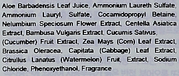 Holika Holika Aloe - Set (gel apaisant visage,corps et cheveux/250 ml + gel nettoyant visage/250 ml) — Photo N3