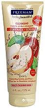 Parfums et Produits cosmétiques Masque-gommage multifonctions au vinaigre de cidre de pomme pour visage - Freeman Feeling Beautiful 4-in-1 Apple Cider Vinegar Foaming Clay