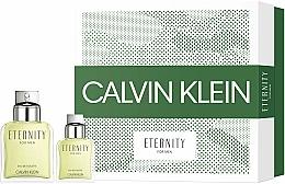 Parfums et Produits cosmétiques Calvin Klein Eternity For Men - Coffret (eau de toilette/100ml + eau de toilette/30ml)