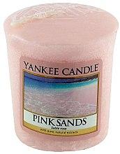 Parfums et Produits cosmétiques Bougie parfumée votive Sable rose - Yankee Candle Pink Sands