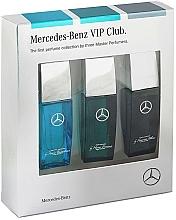 Parfums et Produits cosmétiques Mercedes-Benz Perfume VIP Club - Set (eau de toilette/3x7ml)