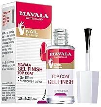 Parfums et Produits cosmétiques Top coat à effet gel - Mavala Top Coat Gel Finish