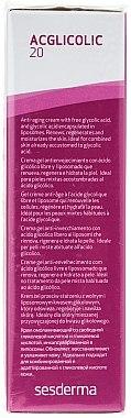 Gel-crème à l'acide glycolique 15% pour visage - SesDerma Laboratories 20 Moisturizing Gel — Photo N2