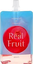 Parfums et Produits cosmétiques Gel apaisant , rafraîchissant et revitalisant aux canneberges pour le corps - Skin79 Real Fruit Real Fruit Cranberry Soothing Gel
