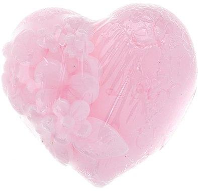 Savon glycériné, forme de coeur, rose - Bulgarian Rose Soap — Photo N2