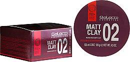 Parfums et Produits cosmétiques Cire coiffante matifiante tenue moyenne - Salerm Pro Line Matt Clay