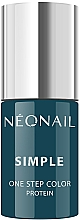 Parfums et Produits cosmétiques Vernis à ongles hybride - NeoNail Simple One Step Color Protein