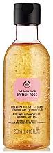 Parfums et Produits cosmétiques Tonique gelée apaisant à l'essence de rose pour visage - The Body Shop British Rose Petal-Soft Gel Toner