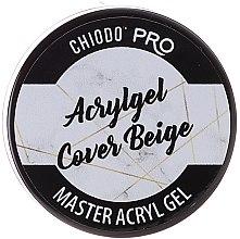Parfums et Produits cosmétiques Gel acrylique beige pour ongles - Chiodo Pro Acryl Gel Cover Beige