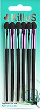Parfums et Produits cosmétiques Set applicateurs de fards à paupières, 6pcs - Killys Botanical Inspiration Applicators