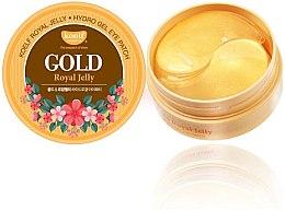 Parfums et Produits cosmétiques Patchs hydrogel à l'or et gelée royale contour des yeux - Petitfee & Koelf Gold & Royal Jelly Eye Patch