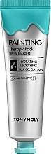 Parfums et Produits cosmétiques Masque apaisant pour visage - Tony Moly Painting Therapy Pack Hydrating & Calming
