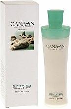 Parfums et Produits cosmétiques Lait nettoyant aux minéraux de la mer Morte pour visage - Canaan Minerals & Herbs Cleansing Milk Normal to Dry Skin