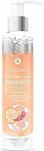 Parfums et Produits cosmétiques Lotion pour mains et corps, Orange et Chile - Kabos Wild Orange & Chilli Hand & Body Lotion