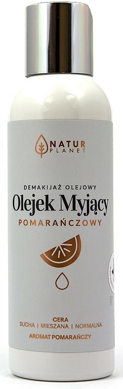 Huile nettoyante pour visage - Natur Planet Facial Cleansing Oil Orange