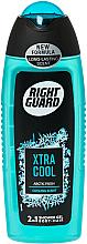 Parfums et Produits cosmétiques Gel douche pour corps et cheveux - Right Guard Xtra Cool Shower Gel