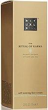 Parfums et Produits cosmétiques Crème autobronzante pour visage - Rituals The Ritual of Karma Self Tanning Face Cream