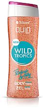 Parfums et Produits cosmétiques Gel douche exfoliant, Tropiques sauvages - Silcare Quin Peeling Wild Tropics